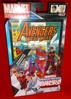 Marvel Universe Comic Packs: Wonderman & Quicksilver - Action Figure 2-Pack Sealed on Card