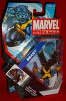 Marvel Universe Series 4 #10: Beast (Upside Down)- Action Figure Sealed on Card