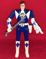Mighty Morphin' Power Rangers: Auto Morphin Blue Ranger Billy - Complete Loose Action Figure