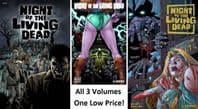 Night of the Living Dead - Volumes 1, 2 & 3 - Set of 3 TPBs/Graphic Novels