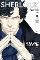 Sherlock: A Study In Pink - Full Set of 6 Comics