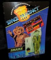 Space Precinct: Snake - Action Figure - Sealed on Card
