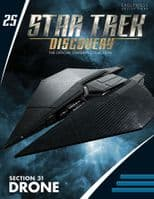 Star Trek Discovery Starships Collection #25 Section 31 Drone