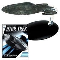 Star Trek The Official Starships Collection #48 Armored U.S.S. Voyager (NO MAGAZINE)