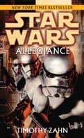 Star Wars: Allegiance - By Timothy Zahn - Paperback Novel