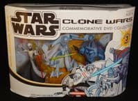 Star Wars Clone Wars Commemorative DVD Collection: Sith Attack Pack - Action Figure 3-Pack