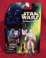 Star Wars Power of the Force: Snowtrooper - Sealed on Card