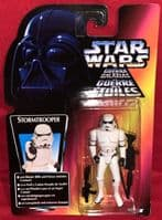 Star Wars Power of the Force: Stormtrooper - Red Card/Tri-Logo - Sealed on Card