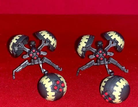 Star Wars Revenge of the Sith: Buzz Droids - 2 x Open & 2 x Closed