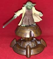 Star Wars Saga Attack of the Clones: Yoda - Loose Action Figure