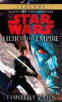 Star Wars The Thrawn Trilogy Book 1: Heir to the Empire - By Timothy Zahn - Paperback Novel