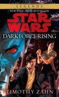 Star Wars The Thrawn Trilogy Book 2: Dark Force Rising - By Timothy Zahn - Paperback Novel