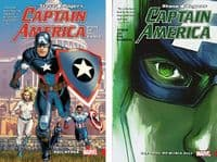 Steve Rogers Captain America Volumes 1 & 2: Hail Hydra & The Trial of Maria Hill - TPBs