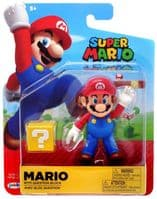 Super Mario: Mario with Question Block - Action Figure