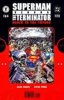 Superman Versus The Terminator: Death To The Future - Issues 1 to 4 - Full Set of 4 Comics