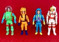 The Real Ghostbusters: Set of 4 Super Fright Features Vintage Action Figures