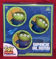Toy Story Collection: Space Aliens - 3-Pack - Thinkway Toys - Sealed in Box