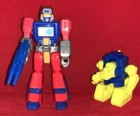 Transformers G1: Action Masters Mainframe with Push-Button - Vintage Complete Loose Action Figure