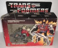 Transformers G1: Dinobot Desert Warrior Snarl - Vintage Boxed Action Figure
