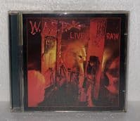 W.A.S.P.: Live... In The Raw - CD Album (15 track version) - Unofficial