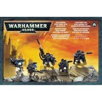 Warhammer 40,000: Space Marine Scout Squad with Sniper Rifles (BARCODE CLIPPED)