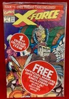 X-Force #1 - Sealed in Baggie with Trading Card!