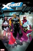 X-Force #2 - Guardians of the Galaxy Grace Variant Cover