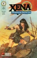 Xena Warrior Princess #1 - Gold Foil CoverVariant - Another Universe Exclusive