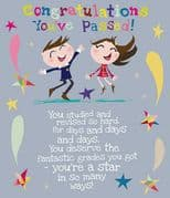 Congratulations You've Passed Card
