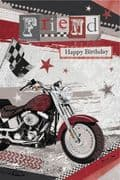 Friend Bike Birthday Card