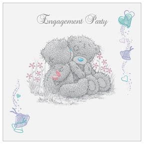 Me to You Tatty Teddy Engagement Party Invitations