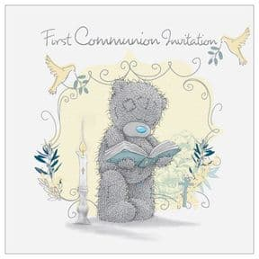 Me to You Tatty Teddy First Communion Invitations
