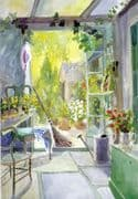 New Home Greeting Card - Garden View