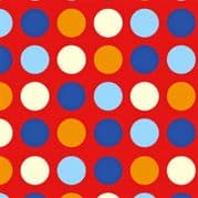 Polka Dot Gift Wrapping Paper with Gift Tags - Pack of 2