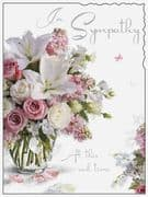 Thoughts are With You Sympathy Card