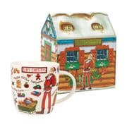 At Your Lesiure Merry Christmas Mug in Gift Box