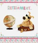 Boofle Large Retirement Card