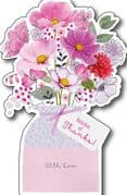 Bunches of Thanks Thank You Card