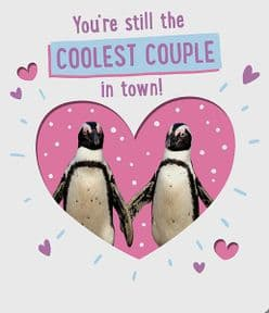 Coolest Couple Wedding Anniversary Card
