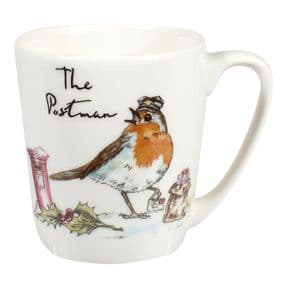 Country Pursuits The Postman Robin Mug