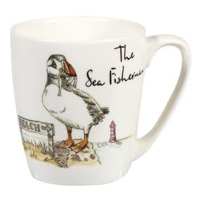 Country Pursuits The Sea Fisherman Puffin Mug