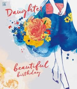 Daughter Beautiful Birthday Card