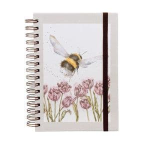Flight of the Bumblebee Spiral Bound A5 Notebook