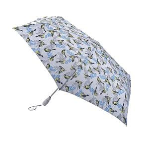 Fulton Neon Robin Open & Close Superslim-2 with Safety Handle Umbrella