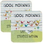 Good Life 'Good Morning' Coasters