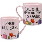 Good Life 'I Shop All Day' Mug