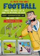 Humorous Mad About Football Birthday Card