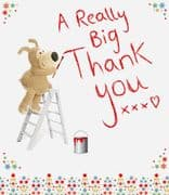 Large Boofle Really Big Thank You Card
