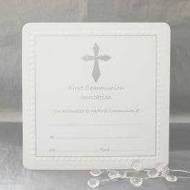 Luxury Pack of 10 First Communion Invitations