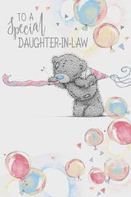 Me to You Daughter In Law Birthday Card